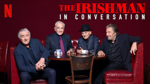 Robert De Niro, Martin Scorsese, Joe Pesci and Al Pacino The Irishman