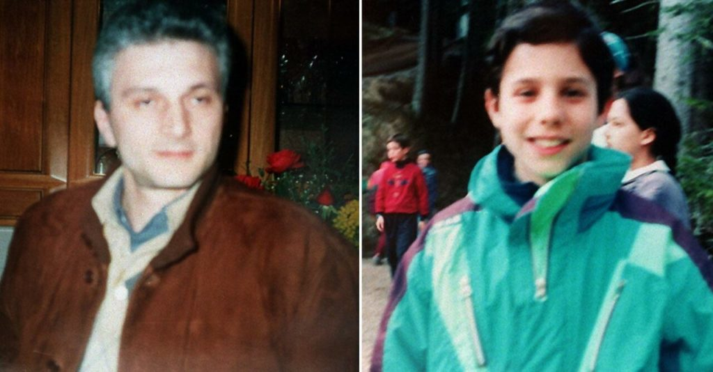 Nicitra's eleven-year-old son Domenico and his brother Francesco