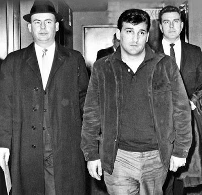 Vincent Asaro at Brooklyn Federal Court in 1966.