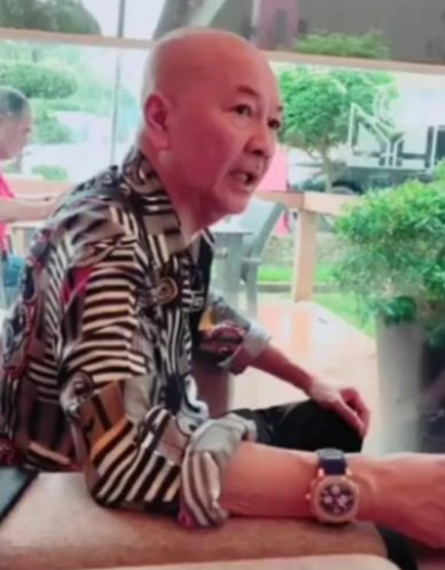 """Roland """"The Hainanese Kid"""" was known for his 'loud' clothing. He died from cardiac arrest at the age of 72."""