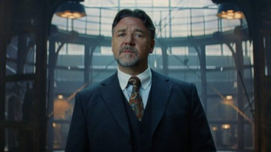 "Russell Crowe who will be playing a notorious mobster in the Paramount movie ""American Son."""