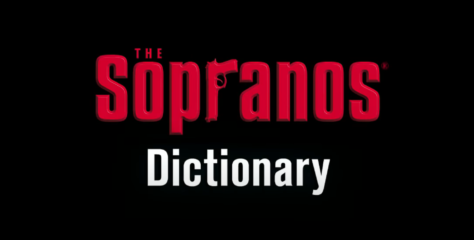HBO releases a 'Video Sopranos Dictionary'