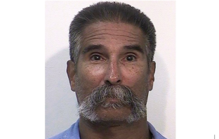 Mug shot of Mexican Mafia boss, Danny Roman. He was stabbed to death in a California Supermax prison.