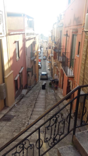 A street in old town Corleone