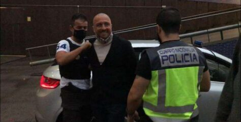 Italian mob boss accidentally released after two-year search